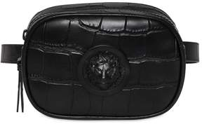 Versace Cocco Pattern Leather Belt Pack