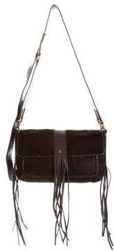 Givenchy Fringe Messenger Flap Bag