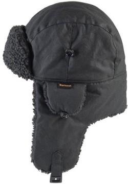 Barbour Men's Fleece Lined Trapper Hat - Black