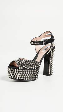 Moschino Platform Sandal Pumps