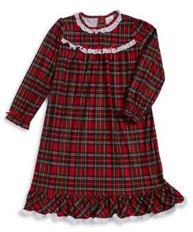 Little Me Little Girl's Plaid Night Gown