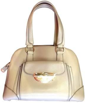 Lancel Adjani Grey Leather Handbag
