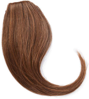 Hairdo. by Jessica Simpson & Ken Paves Ginger Brown Swept Away Clip-in Bang