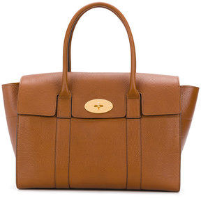 Mulberry winged tote