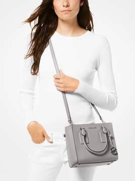 MICHAEL Michael Kors Selby Crossgrain Leather Messenger