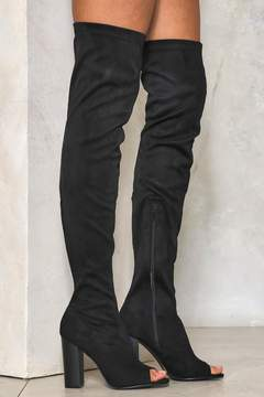 Nasty Gal nastygal Deep Dark Secret Thigh-High Boot