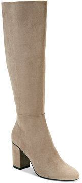 Kenneth Cole Reaction Women's Time To Step Tall Block-Heel Boots Women's Shoes