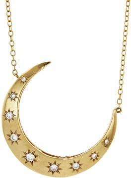 Andrea Fohrman Large Diamond Luna Necklace