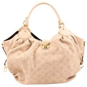 Louis Vuitton Mahina leather handbag - BEIGE - STYLE