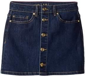 Kate Spade Kids Mini Skirt in Denim Indigo Girl's Skirt