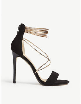 Office Hollywood tubular strap heeled sandals
