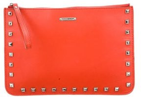 Rebecca Minkoff Studded Kerry Pouch - ORANGE - STYLE