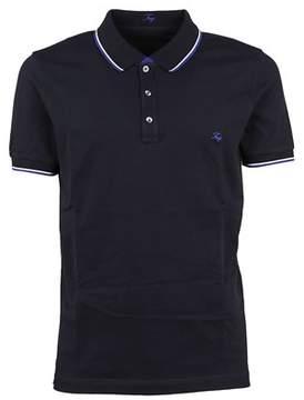 Fay Men's Npmb236140sit0u807 Blue Cotton Polo Shirt.