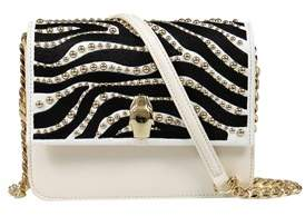 Class Roberto Cavalli Black White Milano Bag Medium Milano Rmx 0.