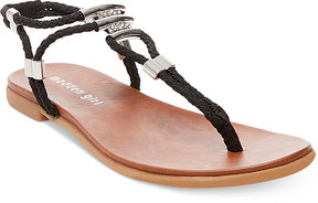 Madden-Girl Flexii T-Strap Flat Sandals