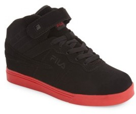 Fila Boy's Vulc 13 High Top Sneaker