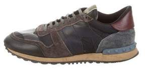 Valentino Rockrunner Camo Sneakers