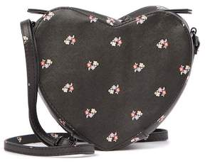 T-Shirt & Jeans Floral Heart Crossbody Bag