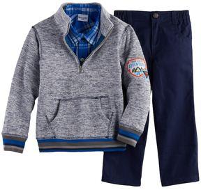 Nannette Boys 4-7 3-pc. Sweater