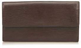 Louis Vuitton Pre-owned: Epi Porte Monnaie Credit. - BROWN - STYLE
