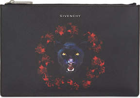 Givenchy Jaguar small leather pouch