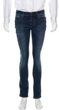 Dirk Bikkembergs Five-Pocket Skinny Jeans