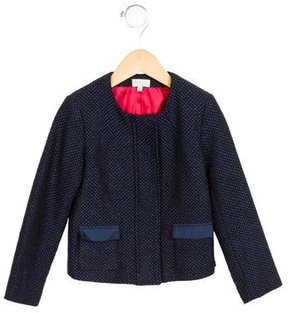 Paul Smith Girls' Woven Zip-Up Jacket
