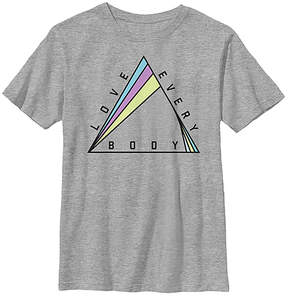 Fifth Sun Athletic Heather 'Love Every Body' Crewneck Tee - Youth
