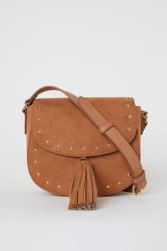 H&M Small Shoulder Bag with Tassel - Beige