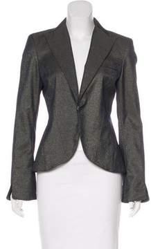 Laundry by Shelli Segal Peak-Lapel Tailored Blazer