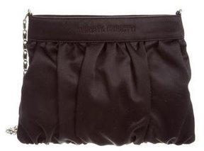 Alberta Ferretti Satin Shoulder Bag