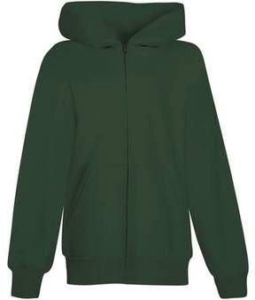 Hanes Boys EcoSmart Fleece Full Zip Hoodie