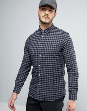 Jack Wills Salcombe Flannel Gingham Shirt in Regular Fit