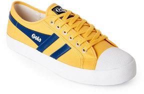 Gola Yellow & Blue Coaster Sneakers