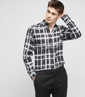 Reiss Cathcart Check Printed Shirt
