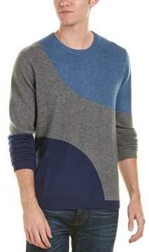 Qi Crewneck Cashmere Sweater.