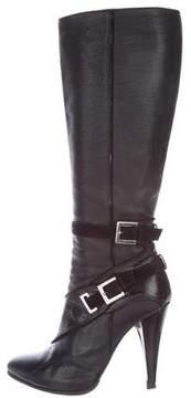 Versace Platform Leather Boots