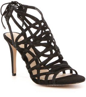 Gianni Bini Trilby Ankle Tie Leather Dress Sandals