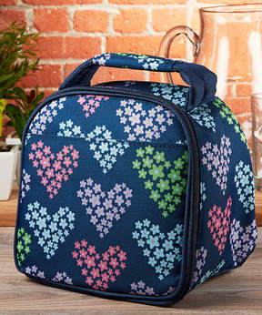 Fit & Fresh Heart Flowers Gabby Insulated Lunch Bag