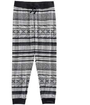 Mudd Girls 7-16 & Plus Size Ribbed Waist Patterned Jogger Pants