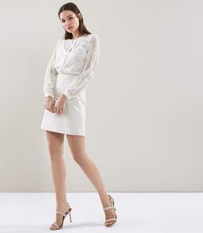 Reiss ROSEMARY Lace Pocket Dress