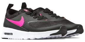 Nike Black and Pink Air Max Thea Trainers