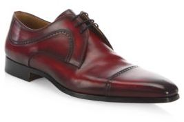 Saks Fifth Avenue COLLECTION BY MAGNANNI Graus Leather Oxfords