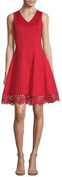 Donna Ricco Women's Sleeveless A-Line Dress