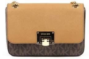 Michael Kors Womens Handbag Tina. - BROWN - STYLE
