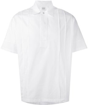 E. Tautz pleated shortsleeved shirt