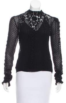 Co RRL & Crocheted Long Sleeve Top w/ Tags
