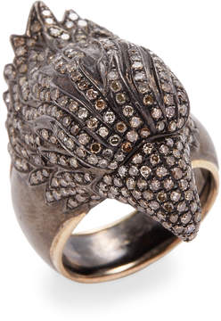 Artisan Women's Eagle Face Ring