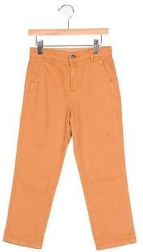 Stella McCartney Boys' Flat Front Chino Pants