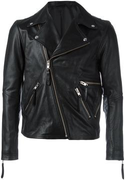 Public School zipped biker jacket